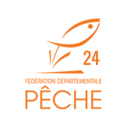 Logo de la fédération de pêche de la Dordogne