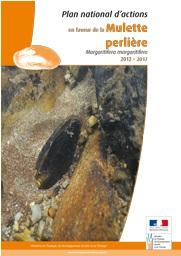 Couverture du dossier de Plan Régional d'Action Mulette Perlière en Limousin