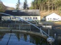 Photo d'une ferme aquacole d'élevage